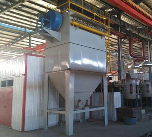 2吨铸造厂电炉除尘器